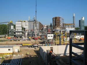 Boiler and Tank Erection - Canton Cogen